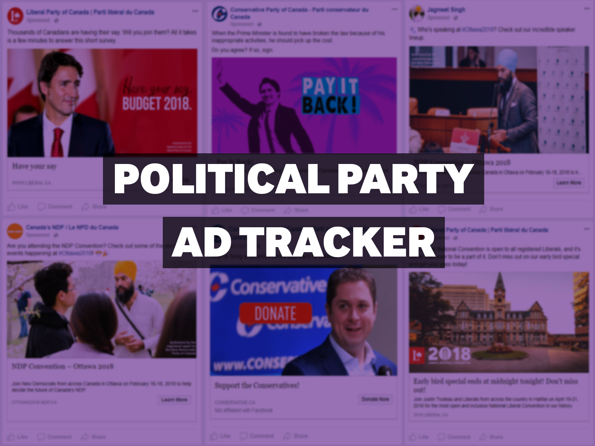 Political Party Ad Tracker — February 12, 2018
