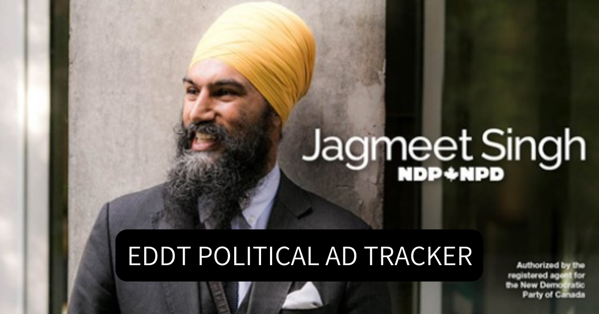 Political Party Ad Tracker — September 21, 2018