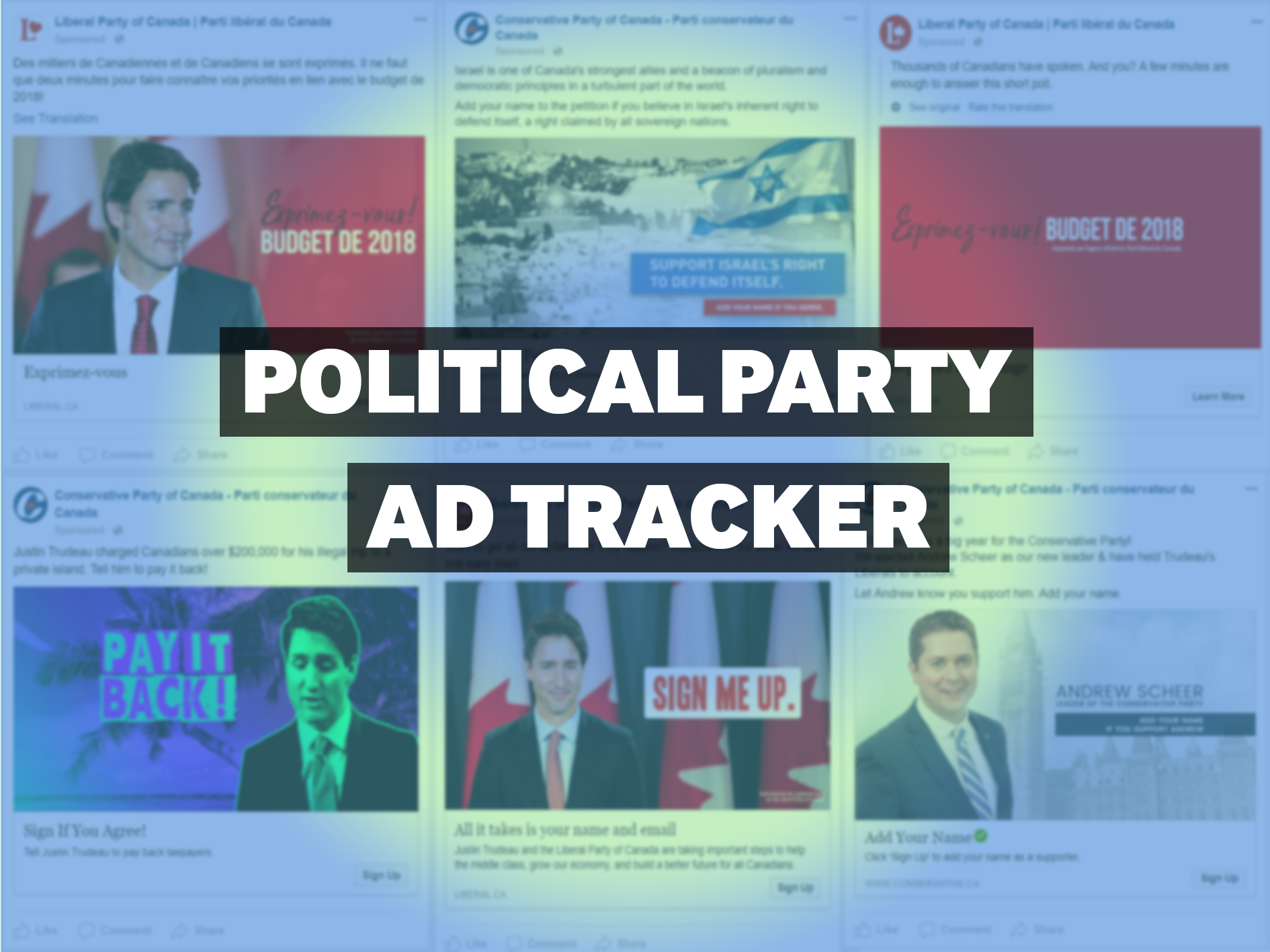 Political Party Ad Tracker — February 19, 2018