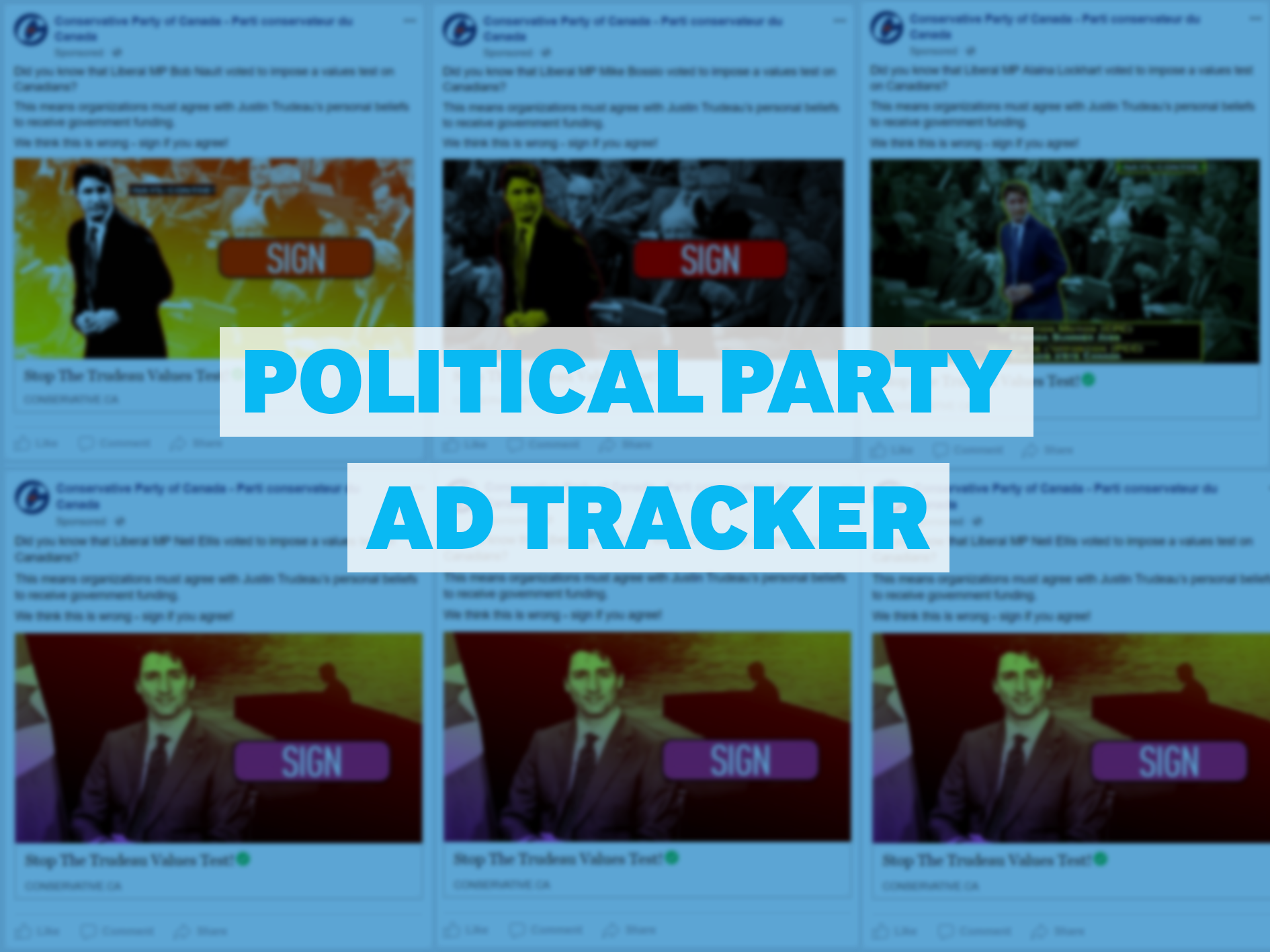 Political Party Ad Tracker — March 26, 2018