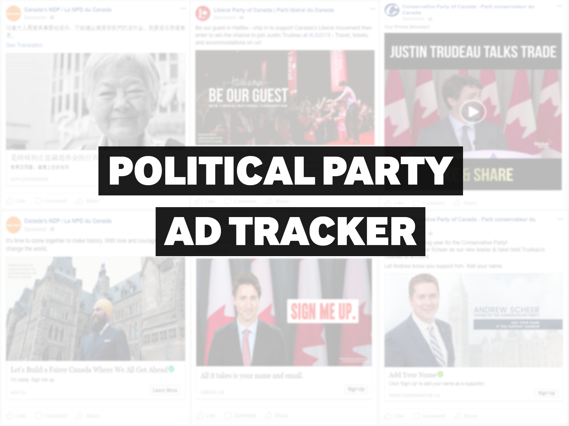 Political Party Ad Tracker — March 12, 2018