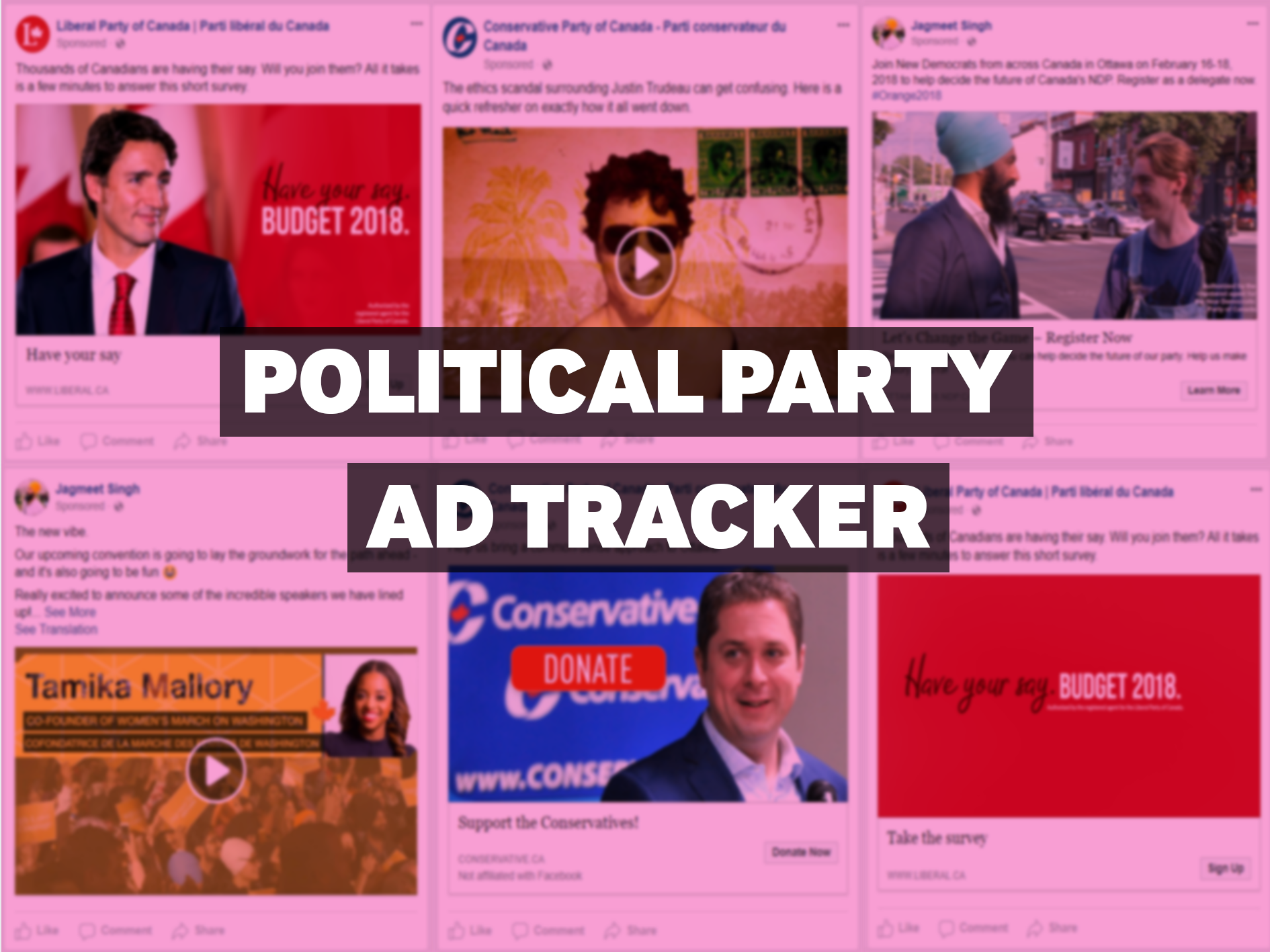 Political Party Ad Tracker — February 5, 2018