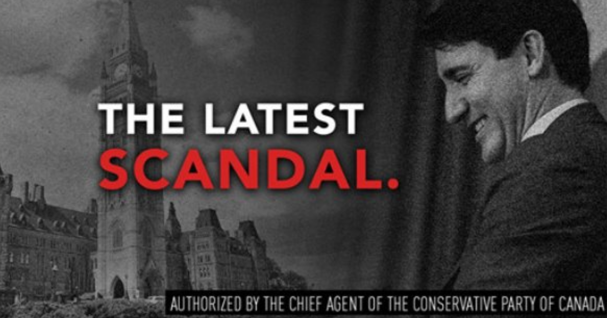 New Conservative Attack Ads Blast Liberals Over SNC-Lavalin Scandal