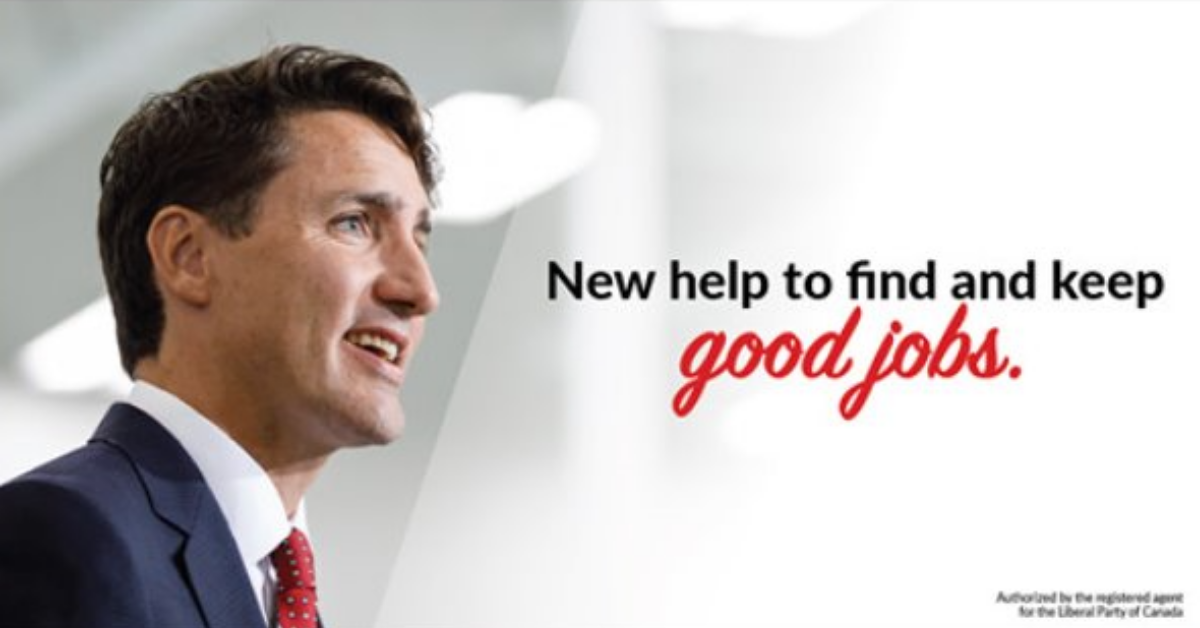 Liberal Ads Focus on New Budget