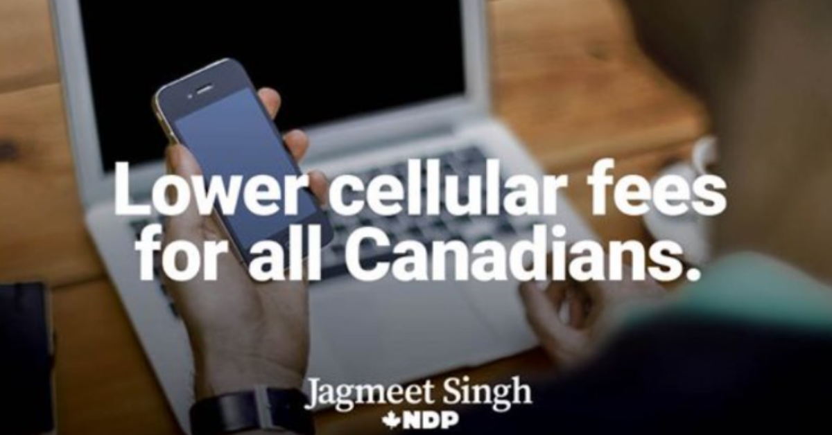 NDP Promising Lower Cellular Fees