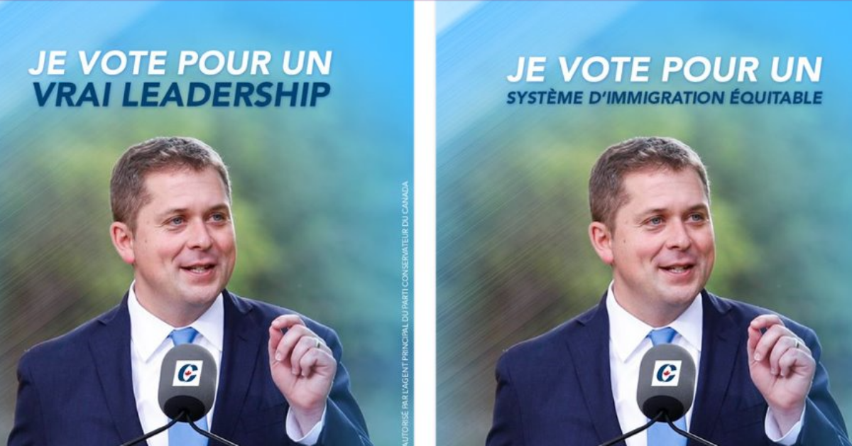 Conservatives and Liberals Putting Out More French Language Ads