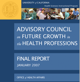 CA 07 Health Sciences Workforce Study