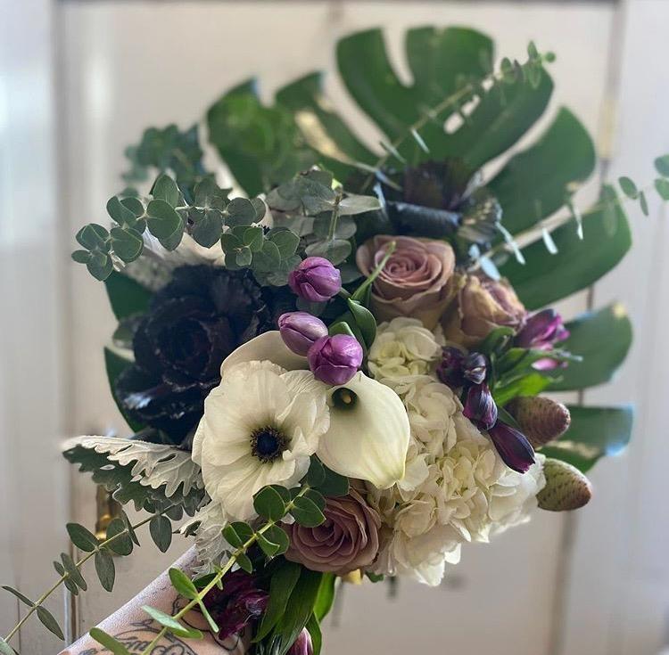 BLM floral bouquet