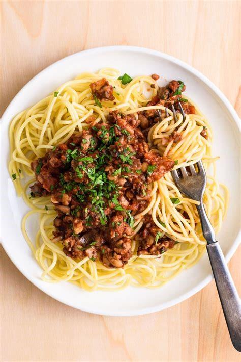 Tempah Spaghetti Bolognese
