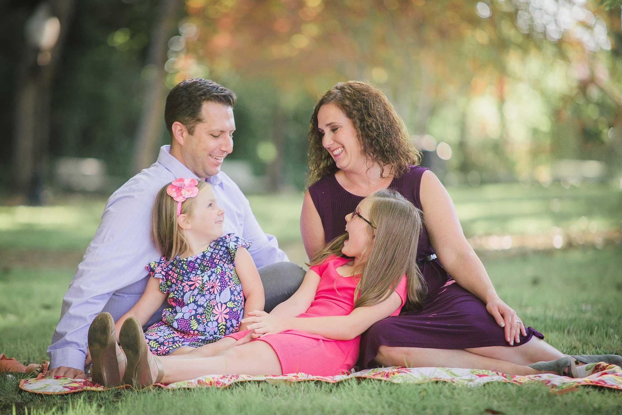 Ed hernandez and family