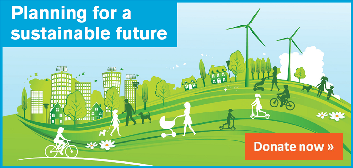 Help plan for a sustainable future