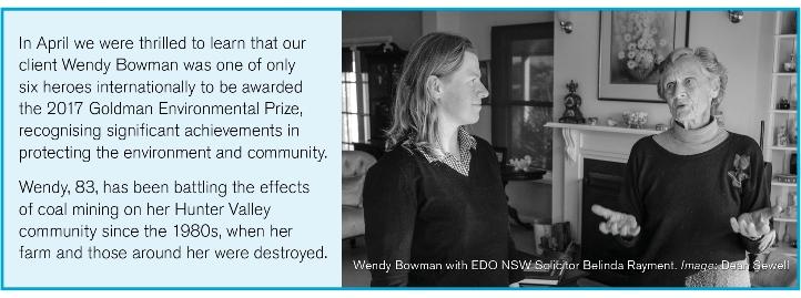 Wendy Bowman wins international award