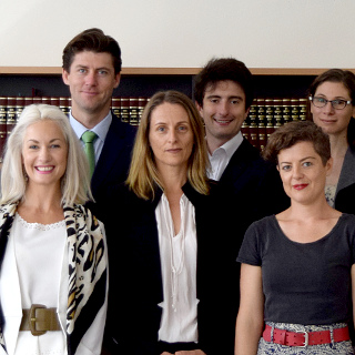 Members of the legal team