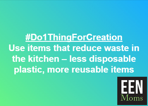 #Do1ThingForCreation - Use less disposable plastic