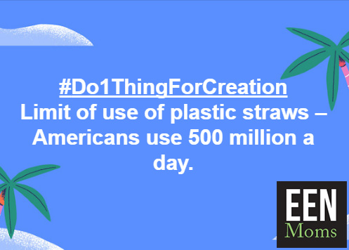 #Do1ThingForCreation - Refuse the Plastic Straws