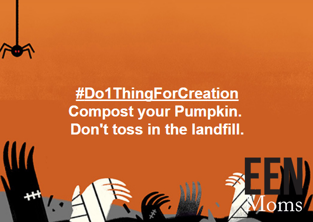 Compost your pumpkins
