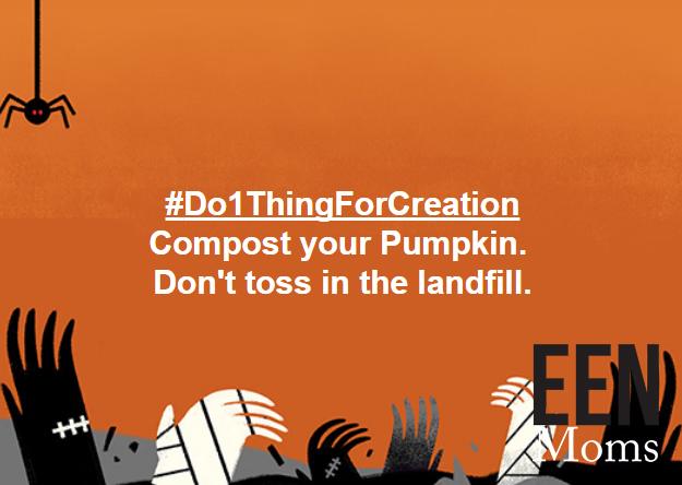 Compost your pumpkins