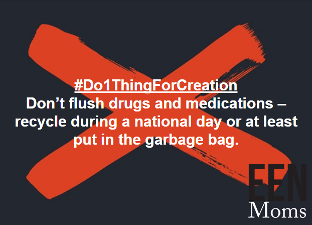 Don't flush your drugs down the drain
