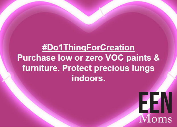 Use low VOCs oaints to protect indoor air quality