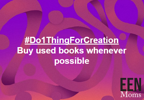 #Do1ThingForCreation - Purchase Used Books