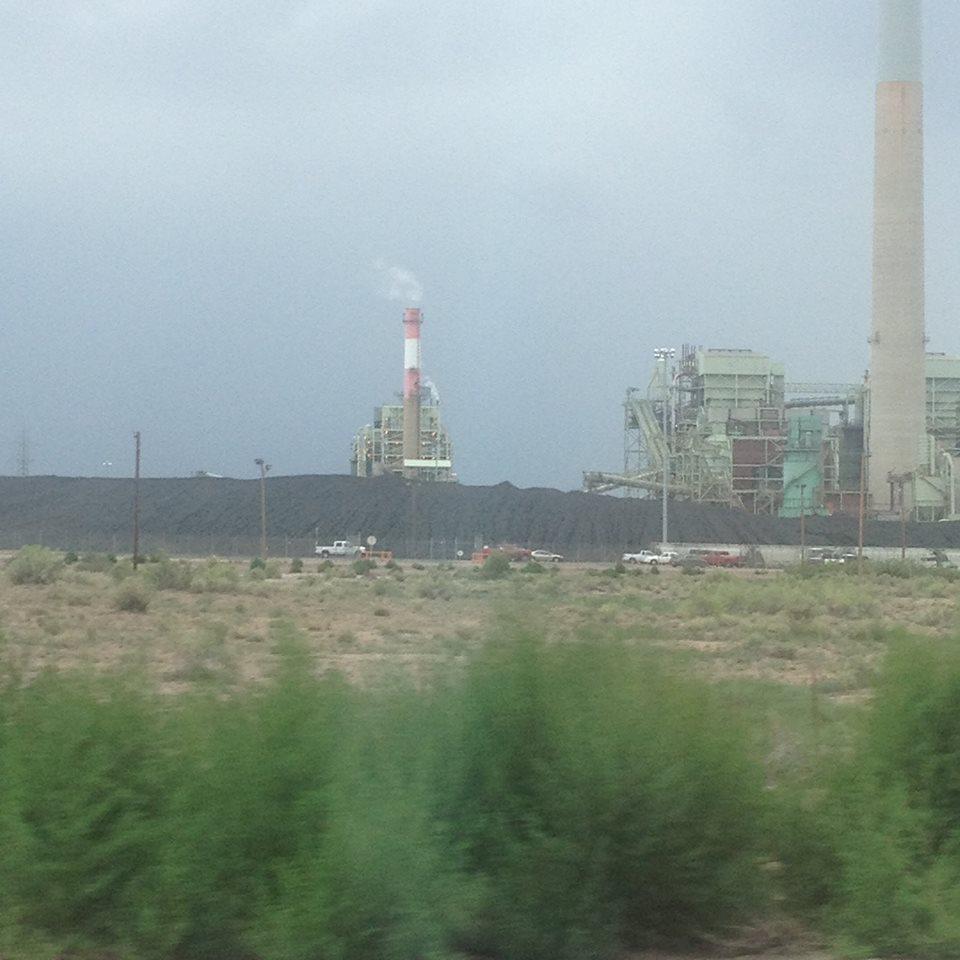 Coal Plant on I-40 in the Najavo Nation