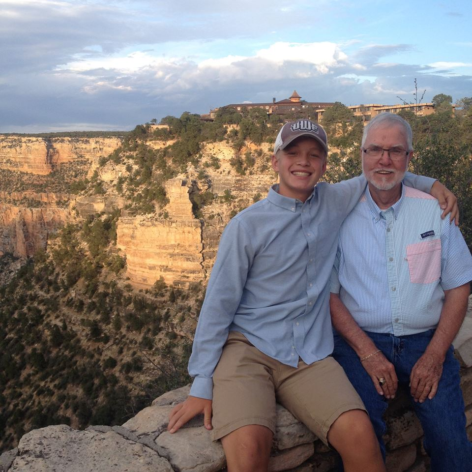 Gratitude for my family and the National Park Service