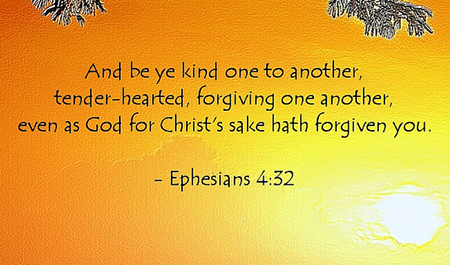 Ephesians 4:32 - Be Thankful
