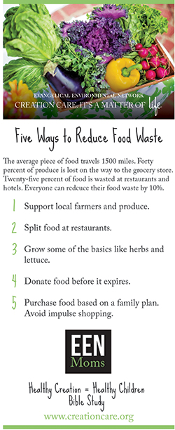 5 Ways Reduce Food Waste