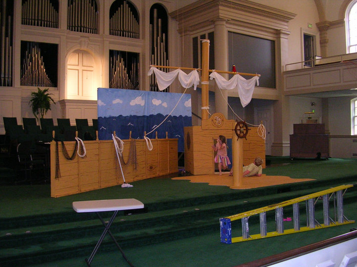 Vacation Bible School - Teaching Jesus Not Entertaining