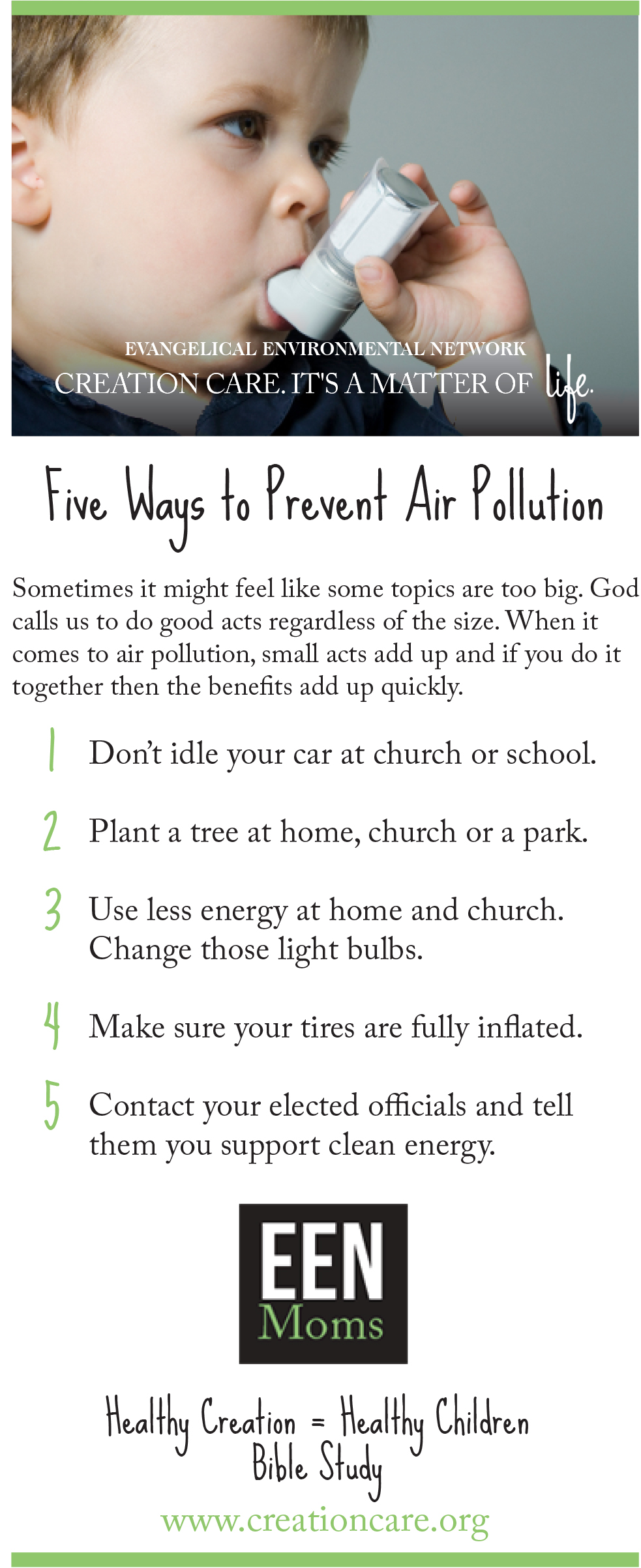 5 Ways to Reduce Air Pollution