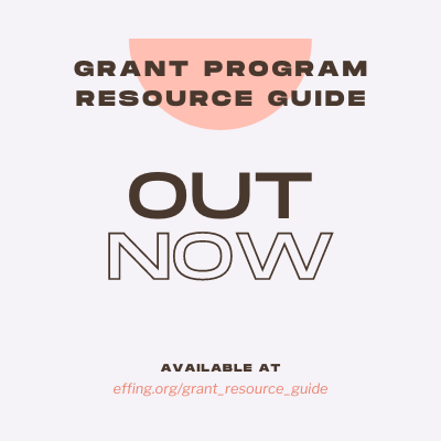 Grant Program Resource Guide Out Now