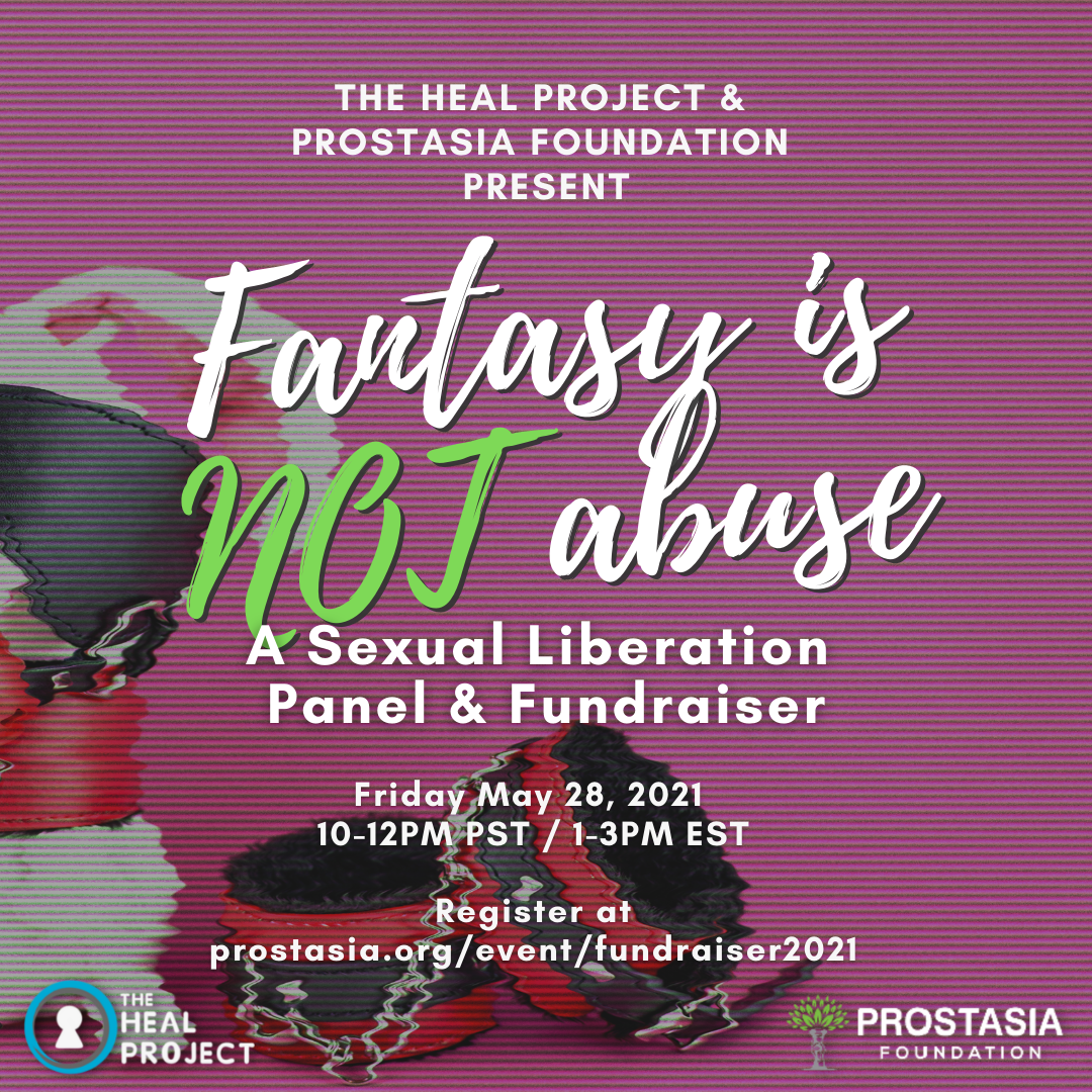 Fantasy is Not Abuse Fundraiser