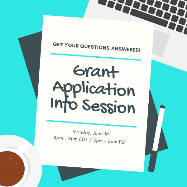 Grant Application Info Session June 14