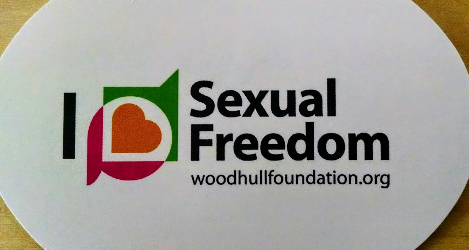 I Love Sexual Freedom Woodhull Foundation