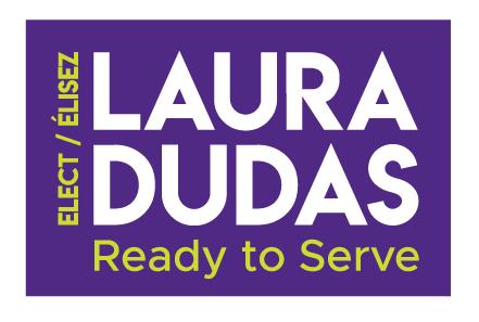 Laura Dudas for Innes Ward