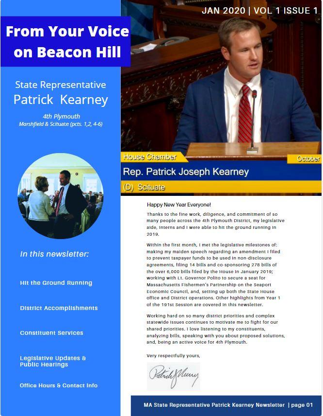Kearney Newsletter Title Page