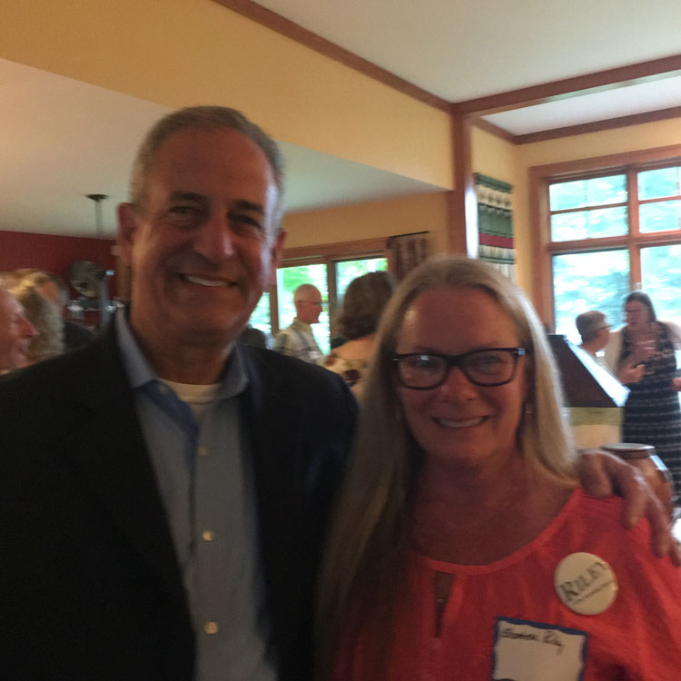 Russ Feingold endorses Elizabeth Riley for Assembly
