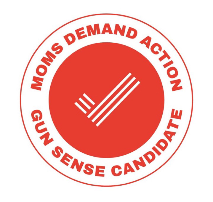 Endorsement from Moms Demand Action a subsidiary of Everytown for Gun Safety