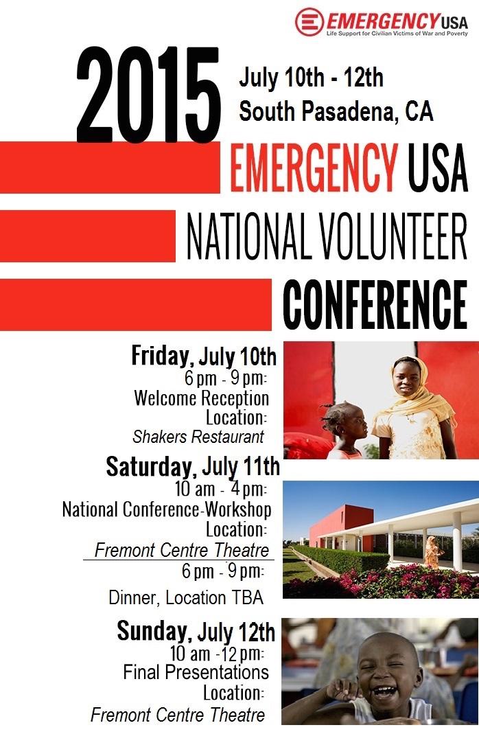 2015 National Volunteer Conference Flyer