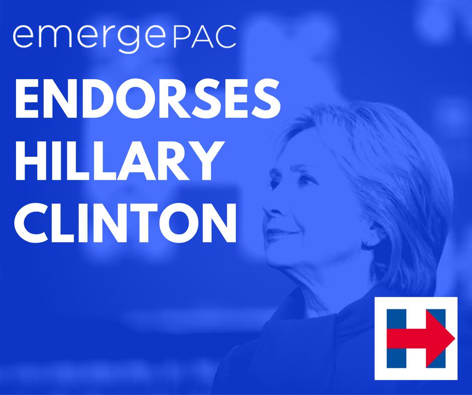 EmergePAC endorses Hillary Clinton