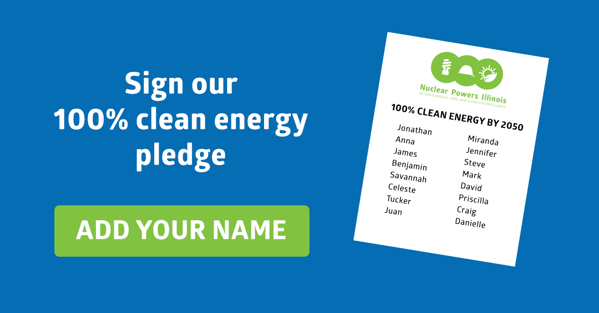 Sign our 100% clean energy petition!