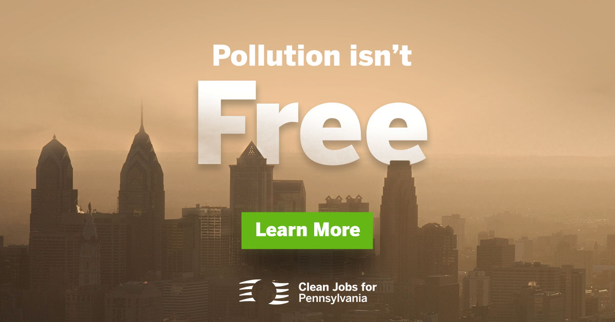 Pollution Isn't Free Graphic