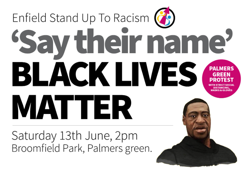Palmers Green Protest - Sat 13th June