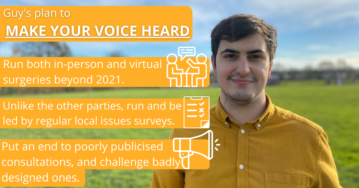 Guy's Plan to Make Your Voice Heard