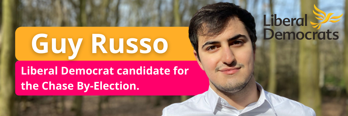 Guy Russo launches campaign for Chase by-election