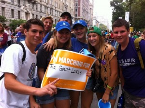 Youth at march