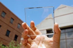 Transparent MSU solar panel