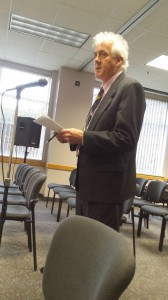 James Clift testifying