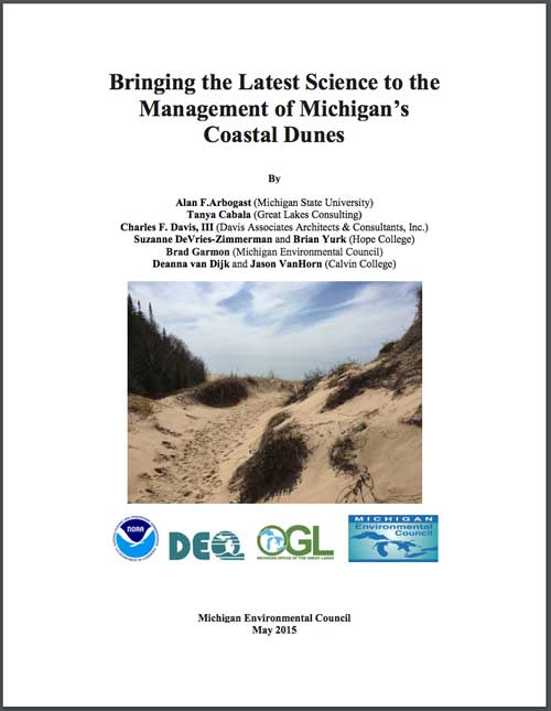 Bringing the Latest Science to the Management of Michigan's Coast Dunes