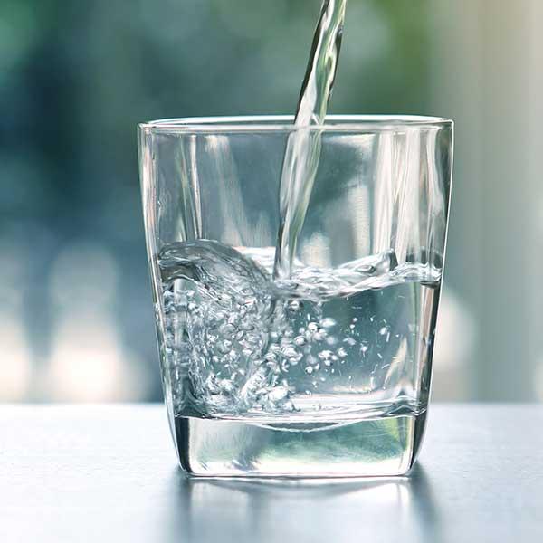 analyze my water button